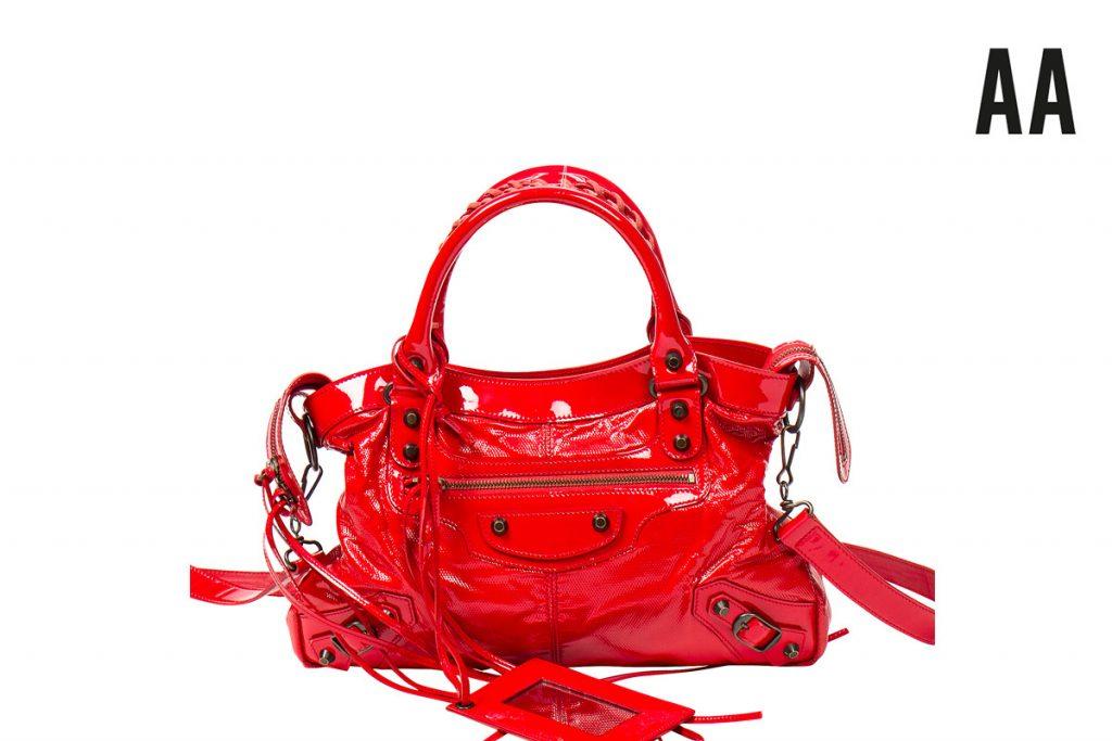 Balenciage sac à main en cuir Town