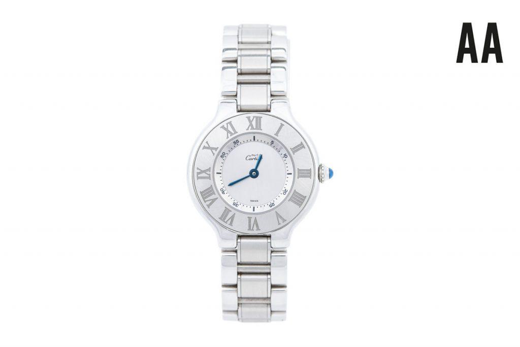 Cartier montre acier