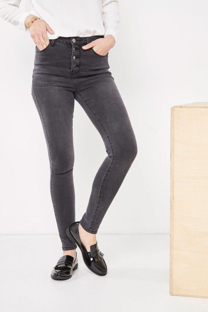 collectionIRL jean skinny taille haute
