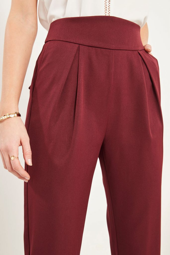 collectionIRL pantalon droit 7/8