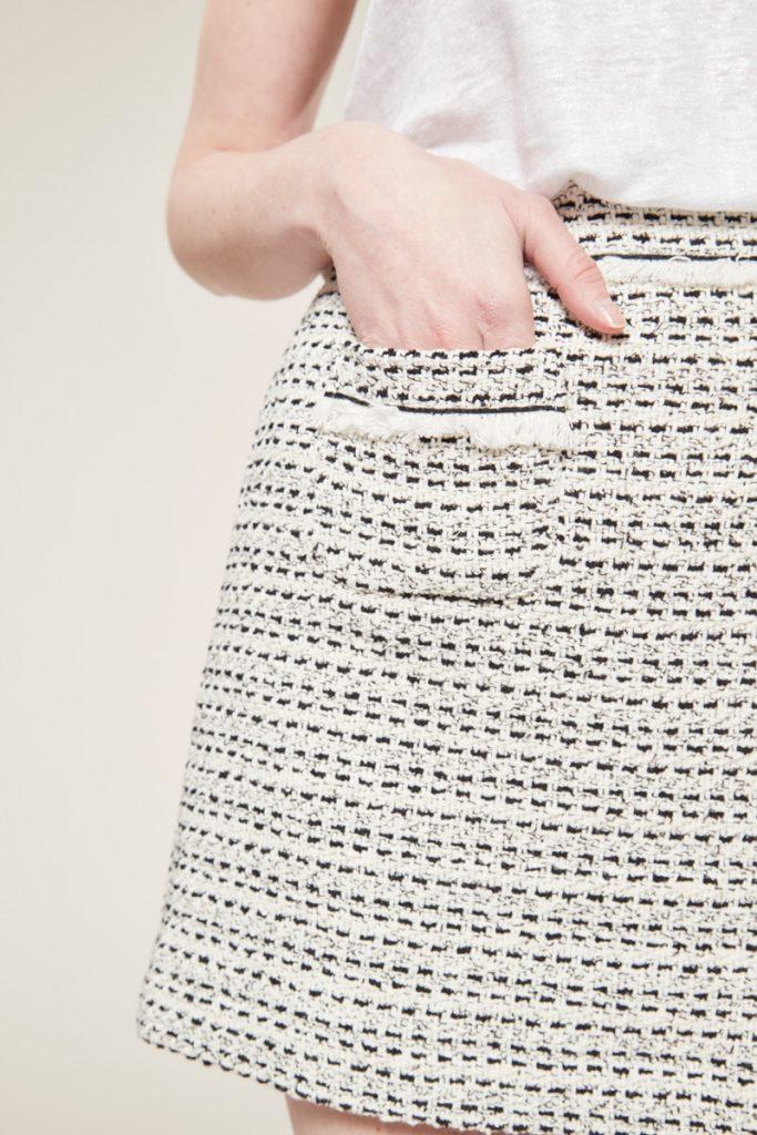 Comptoir des cotonniers jupe courte