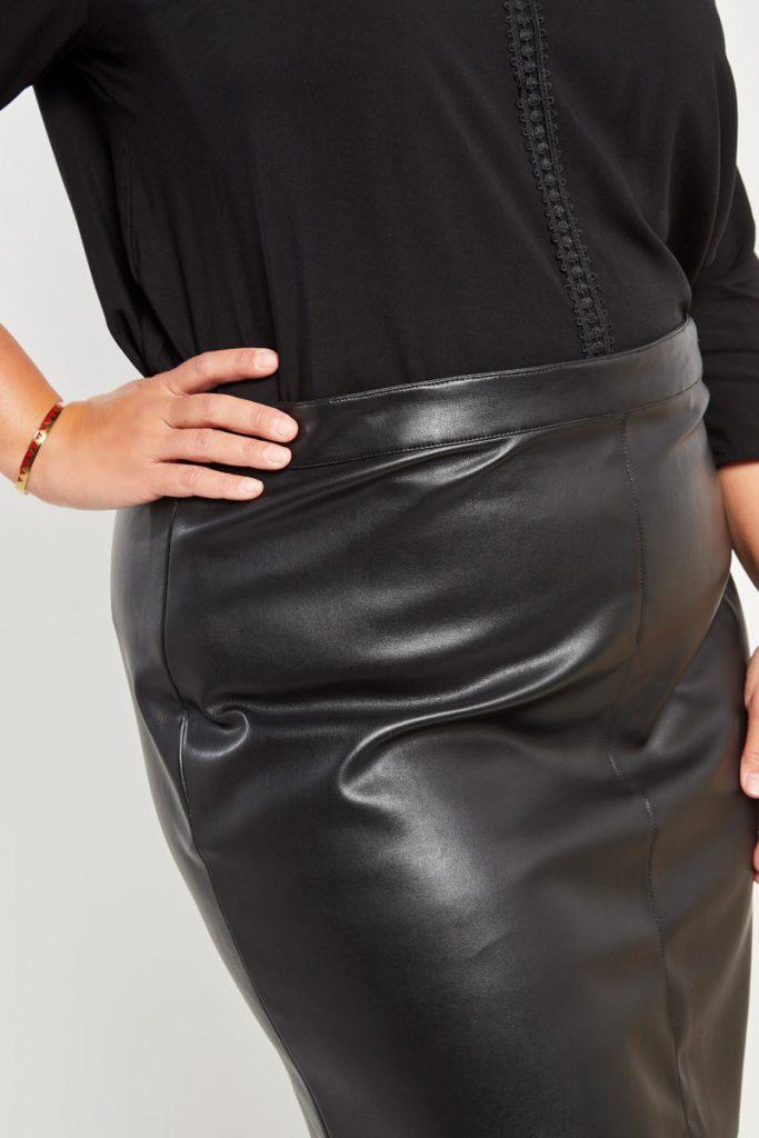 curveIRL jupe effet cuir