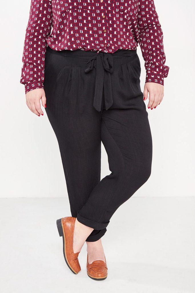 curveIRL pantalon chino nouer