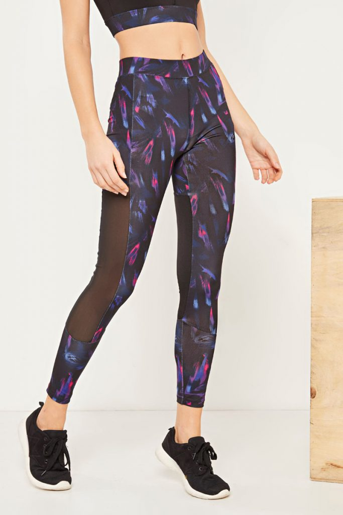 moveIRL leggings à imprimé fantaisie