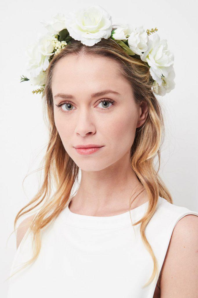 weddingIRL couronne de fleurs