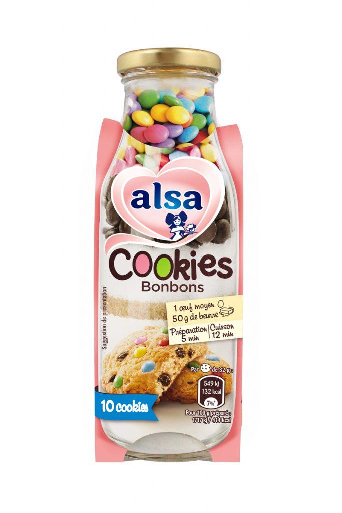 Alsa préparation de cookies