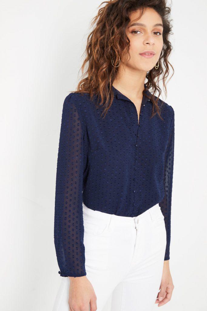 collectionIRL chemise plumetis