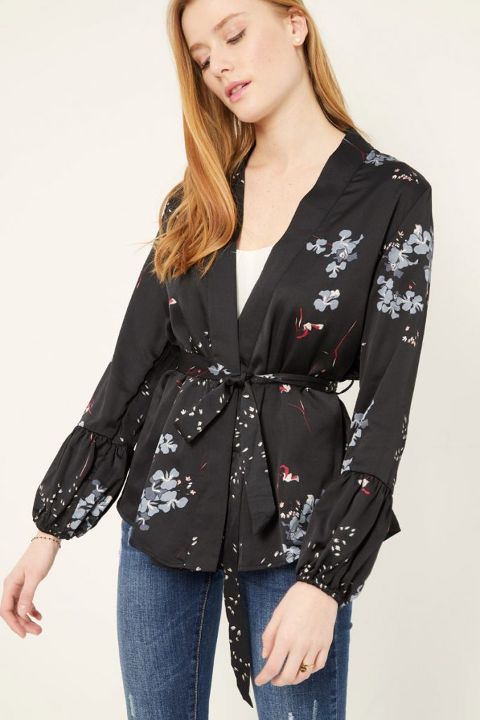 collectionIRL kimono fleuri