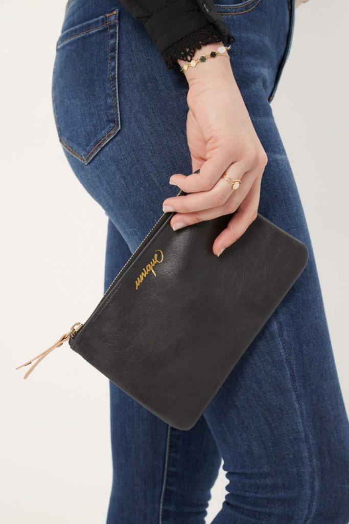 collectionIRL pochette en cuir