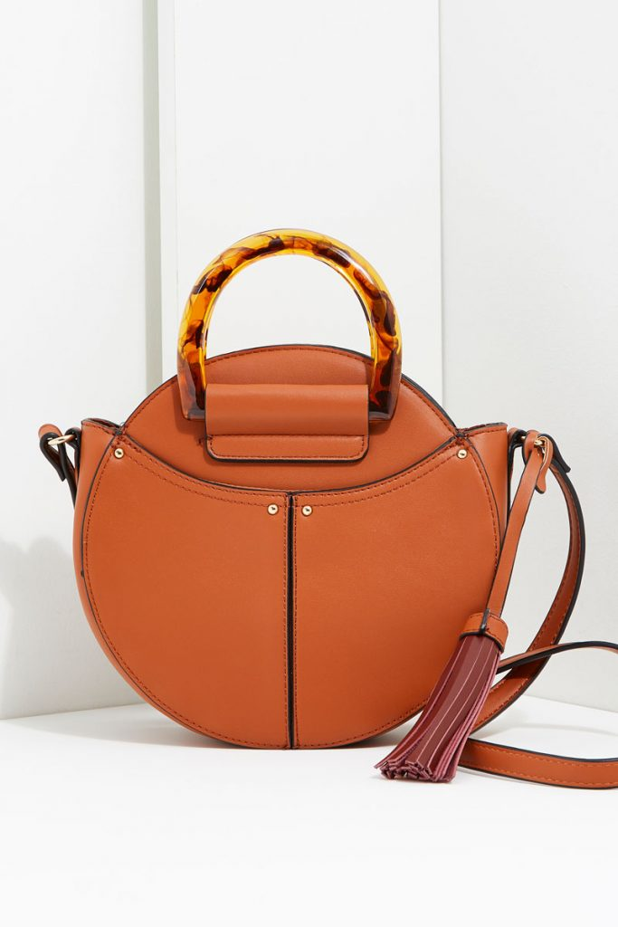 collectionIRL sac rond effet cuir