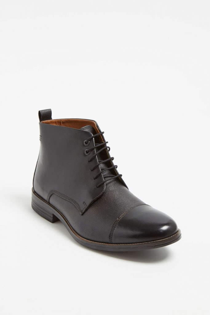 Hush puppies boots en cuir