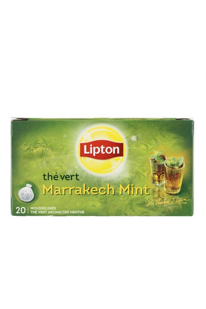 Lipton thé vert Marrakech mint