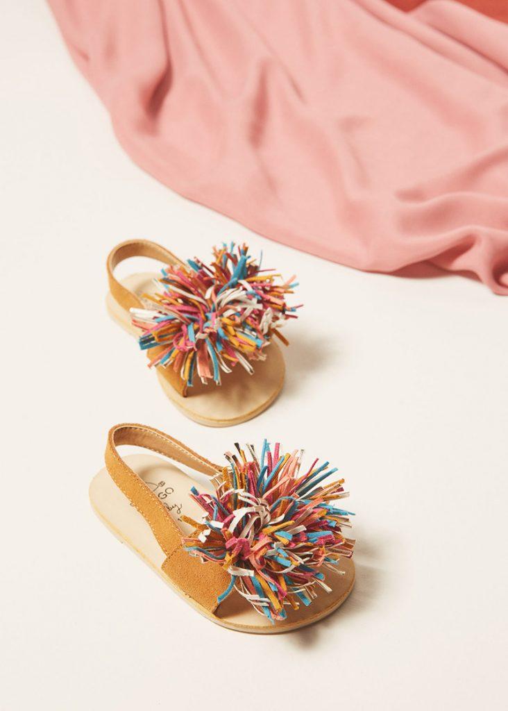 Mango Kids sandales en nubuck