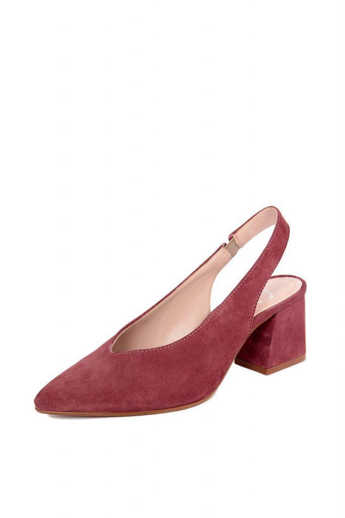 Mes jolies chaussures escarpins en nubuck