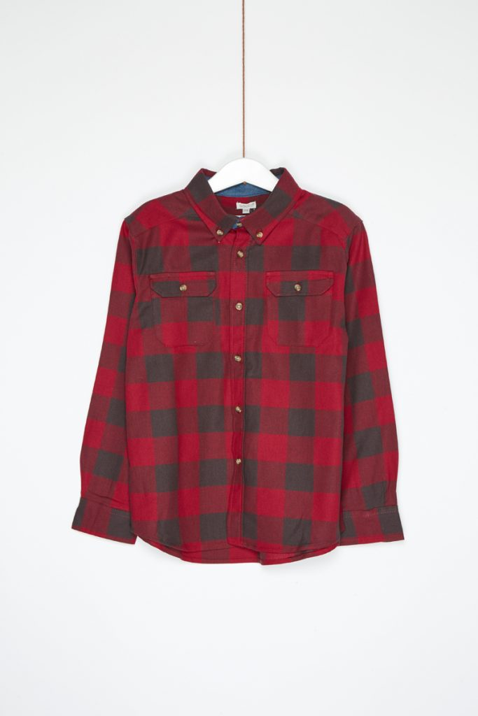 Mode bébé & enfant chemise à carreaux