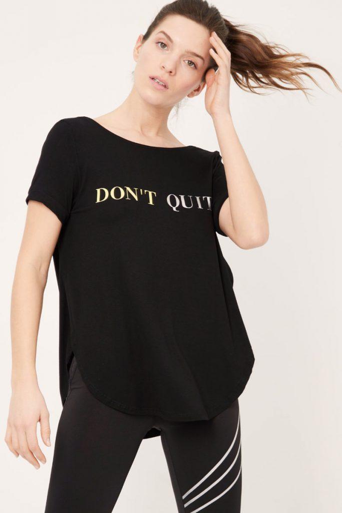 moveIRL t-shirt à message
