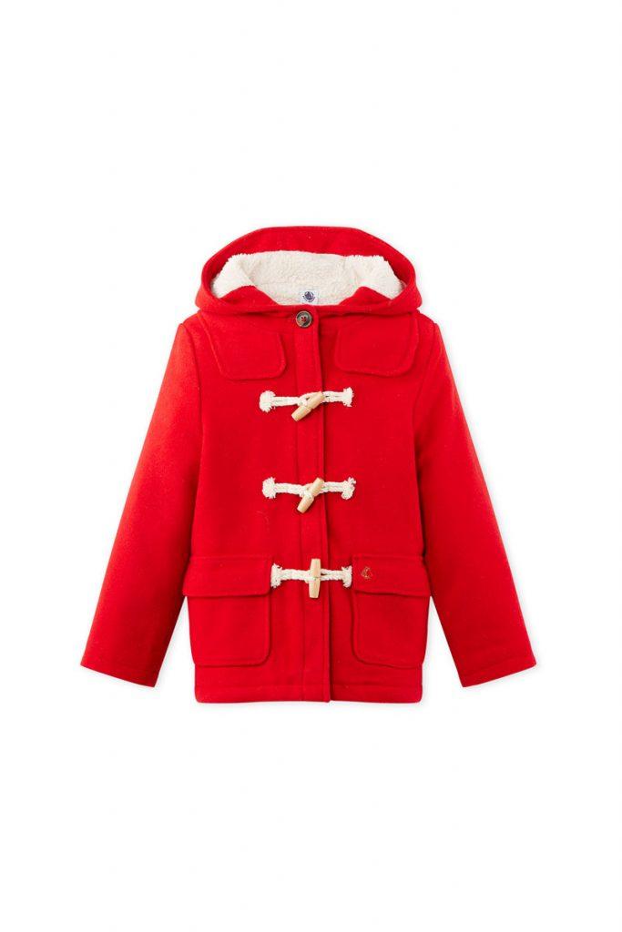 Petit Bateau duffle coat en laine