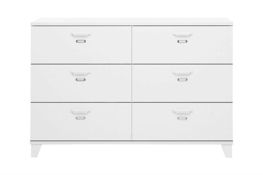 Séjour & Rangement commode 6 tiroirs
