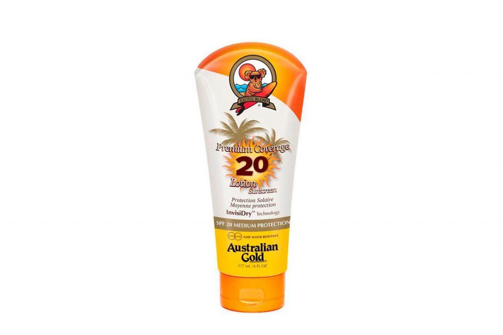 Australian Gold lotion écran total SPF20