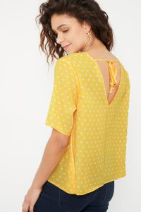 collectionIRL blouse à pois