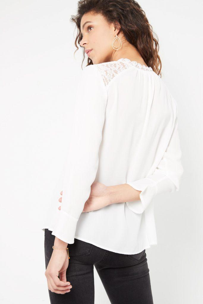 collectionIRL chemise légère en dentelle
