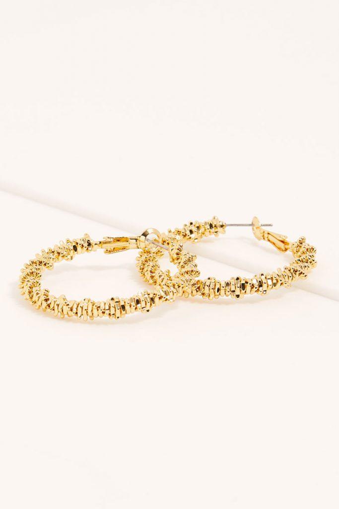 collectionIRL créoles torsadées dorées en or fin