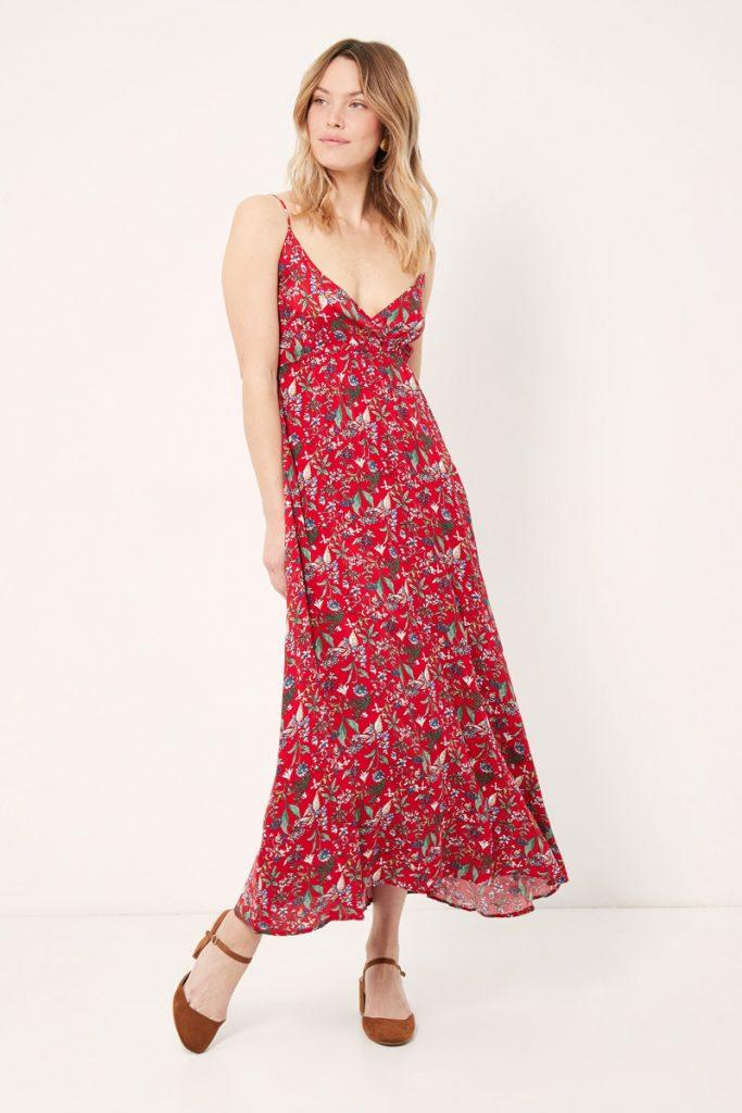 collectionIRL robe longue fleurie