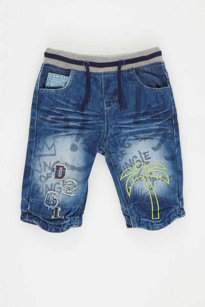 Desigual bermuda en jean
