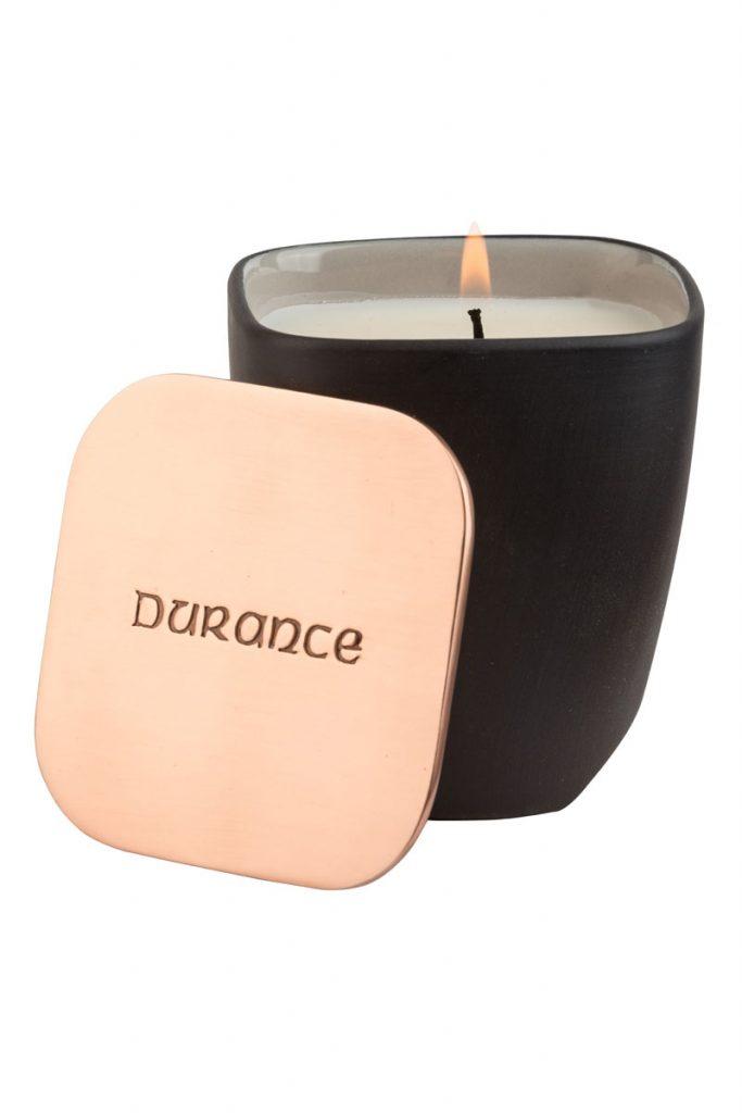 Durance bougie naturelle parfumée