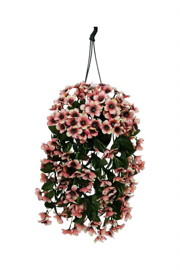 Fleurs artificielles & Co suspension d'anémones