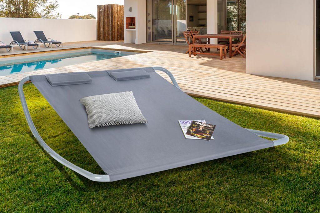 J'aménage ma terrasse bain de soleil