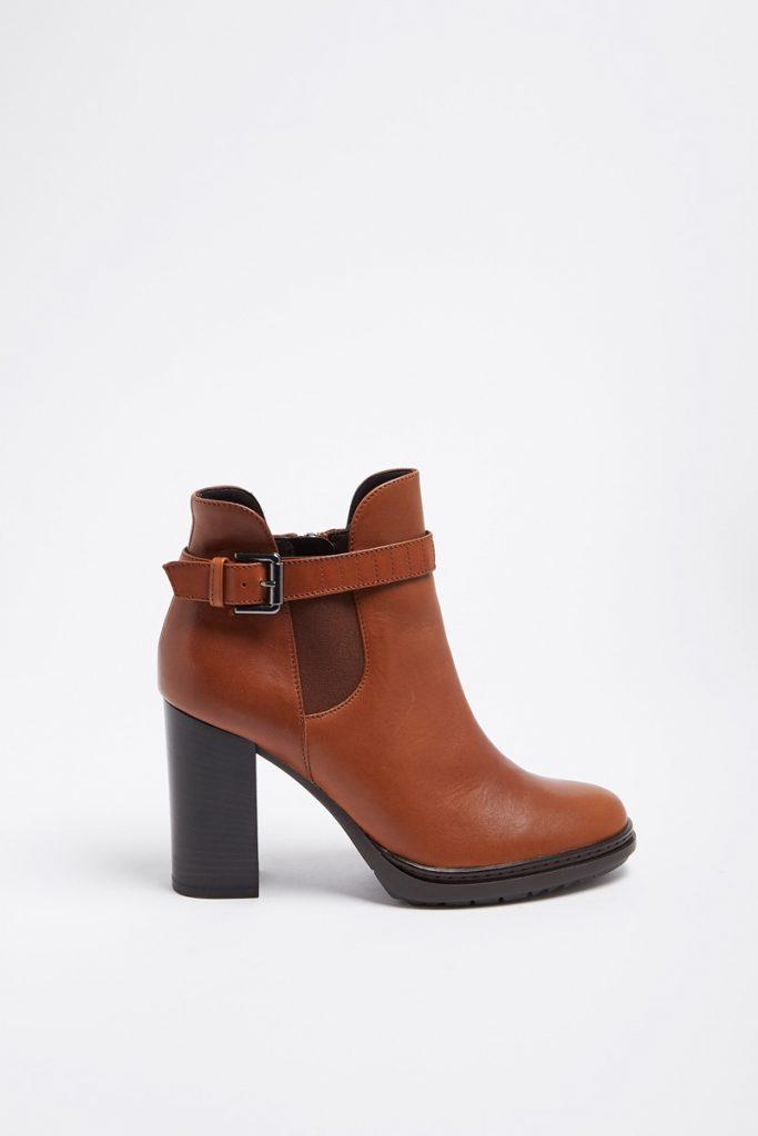 Minelli boots en cuir de chèvre