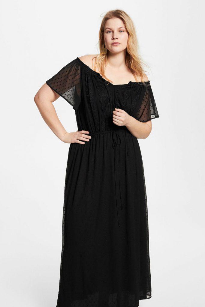 Violeta by Mango robe longue
