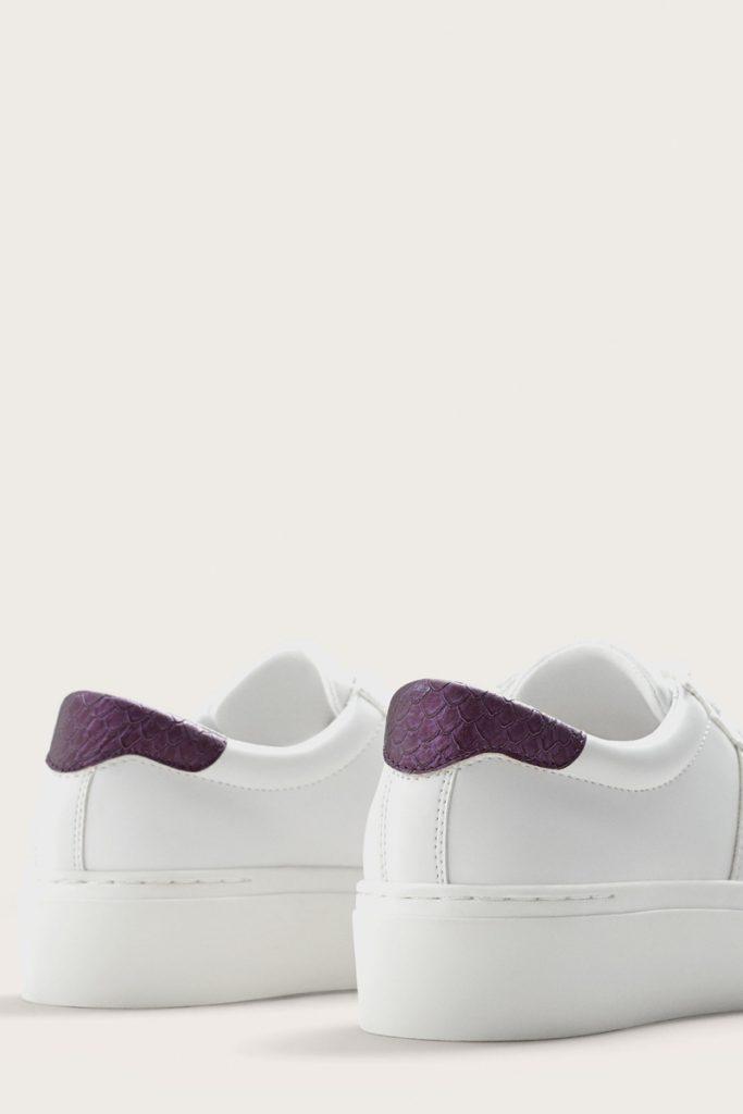 Violeta by Mango tennis plateformes