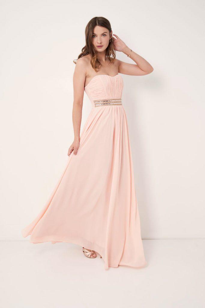 weddingIRL robe longue bustier