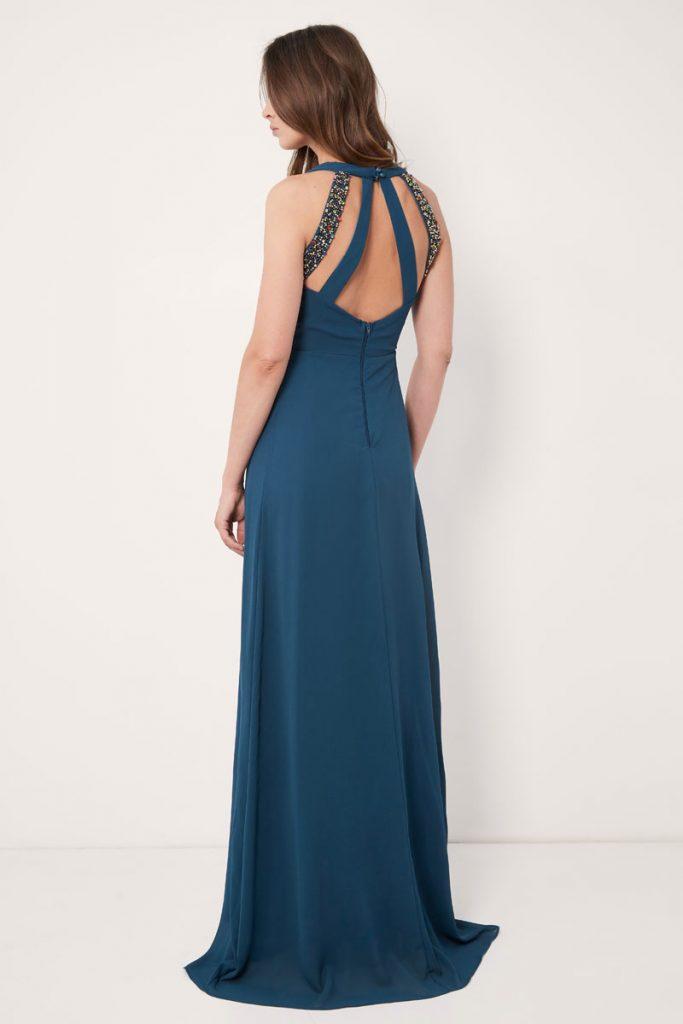 weddingIRL robe longue drapée