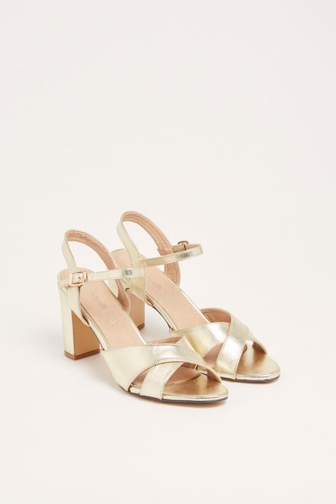 weddingIRL sandales talons pailletées