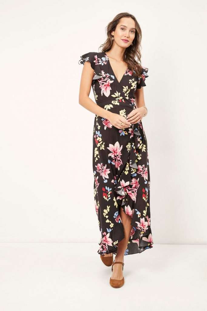 collectionIRL robe longue portefeuille