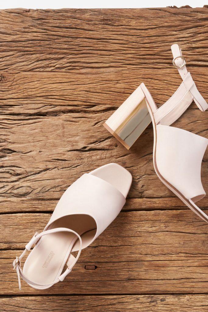 Comptoir des Cotonniers sandales en cuir