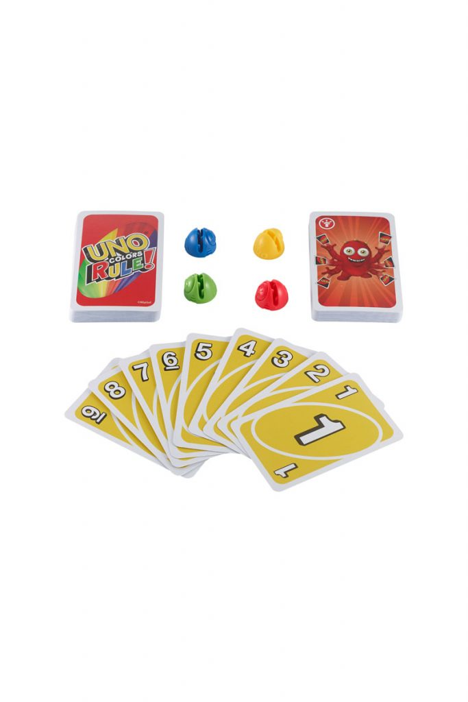 Games Uno colors rule