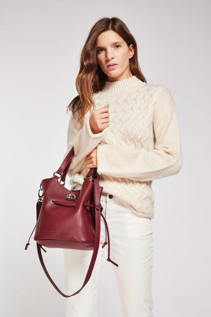 Lamarthe sac porté épaule cuir