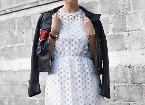 Quels looks avec une robe blanche