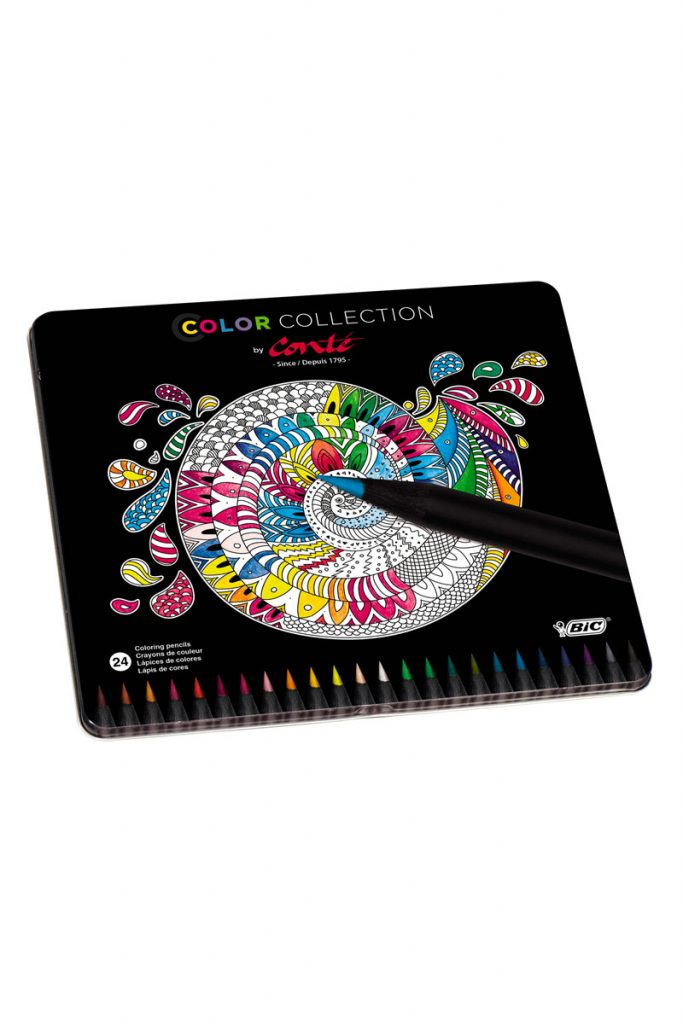 BIC 24 crayons de couleur