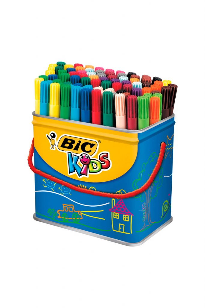 BIC 84 feutres de coloriage