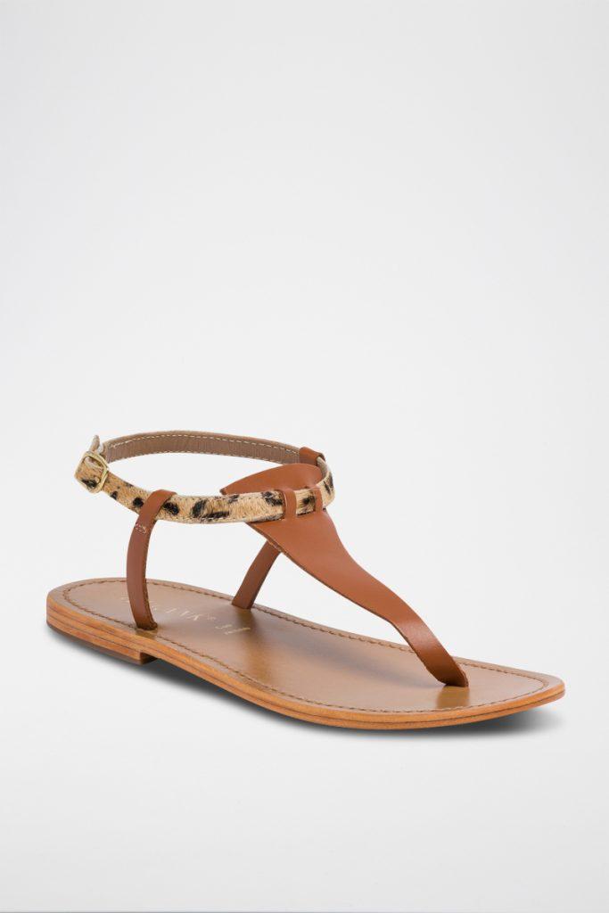 Calank sandales en cuir