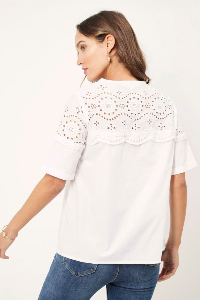 collectionIRL blouse broderie