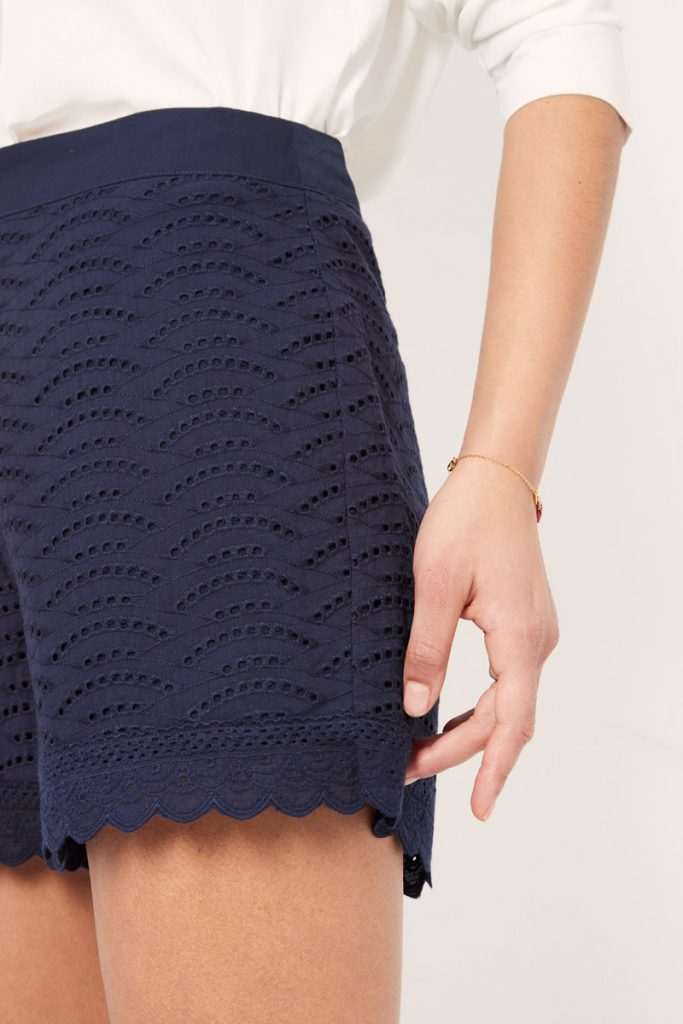 collectionIRL short broderie anglaise