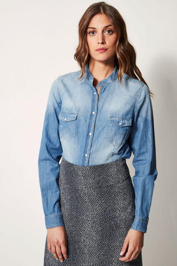 Devernois chemise en jean