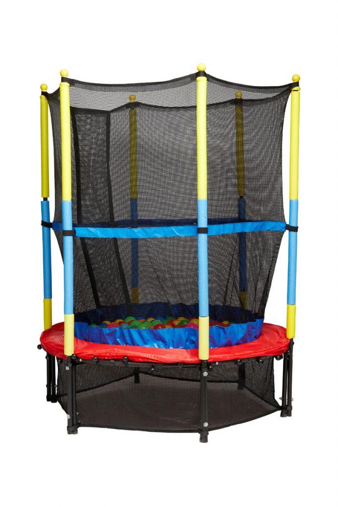 Globo trampoline avec filet