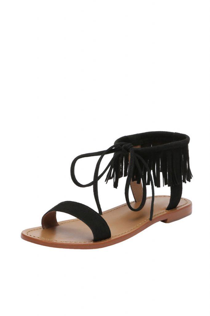 Goldensun sandales en nubuck
